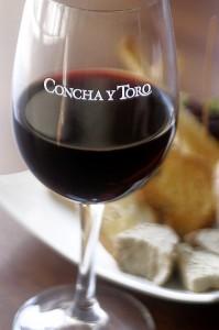Concha y Toro Rotweinglas