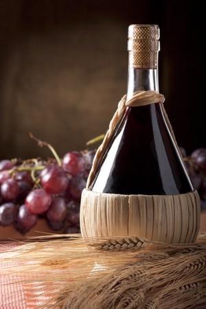 Toskana Chianti Korbflasche