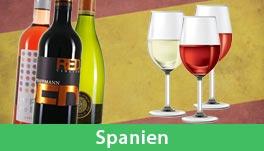 Probierpakete Wein Spanien