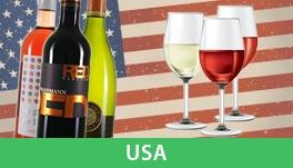 Probierpakete Wein aus den USA