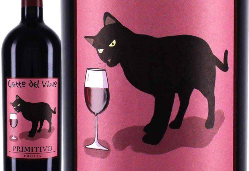 Gatto del Vino, der Primitivo mit der Katze